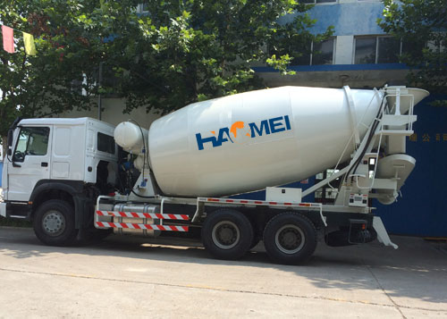 2014-6,10cmb concrete mixer truck was exported to Paraguay