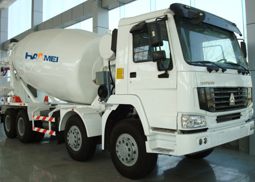 2012-11, concrete mixer truck to Algeria