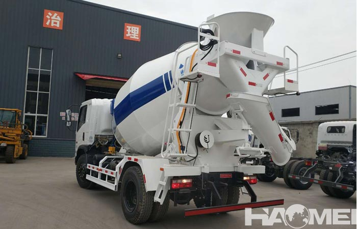 concrete mixer trucks china