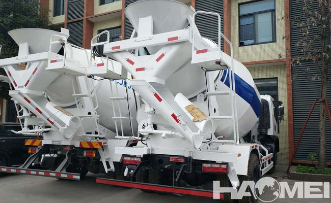 concrete mixing trucks for sale