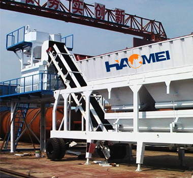 YHZS25 Mini Mobile Concrete Batching PLant